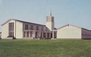DOVER DE - DOVER AIR FORCE BASE chapel completed in June 1956