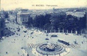 Vista Parcial, Madrid Spain Tarjeta Postal Unused
