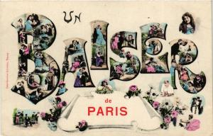 CPA Un Baiser de Paris (301806)