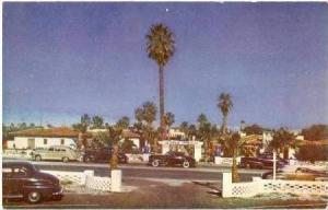 Entrance to Lone Palm Hotel, 40-60s