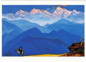 Remember by Nicholas Roerich Art Postcard