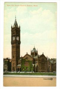 Boston , Massachusetts , 00-10s ; New Old South Church