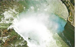 US Niagara Falls, New York. Aerial View of Horseshoe Falls