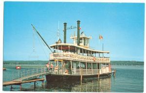 Chautauqua Belle, Mayville, New York, unused Postcard