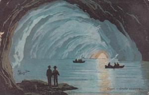 Italy Capri Grotta azzurra