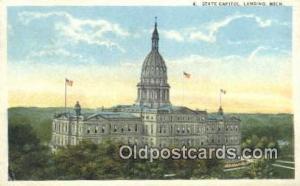 Lansing, Michigan, MI  State Capital, Capitals Postcard Post Card USA  Lansin...