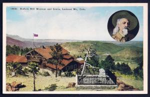 Buffalo Bill Museum Grave Lookout Mt Colorado unused c1920's