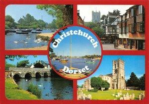 Dorset Multi View Postcard, CHRISTCHURCH AW4