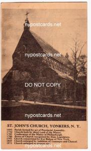 St John's Church, Yonkers NY