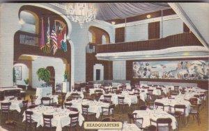 New York City Interior Headquarters Restaurant 1957 sk2433