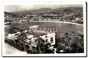 Old Postcard San Sebastian ista Desde Igueldo