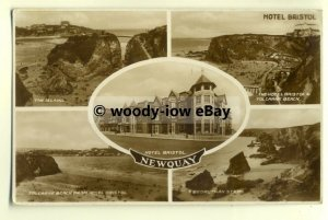 tp8206 - Cornwall - Multiview x 5 of Various Beauty Spots, in Newquay - Postcard