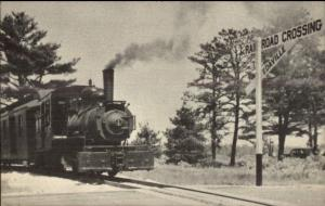 Edaville RR Train Engine #4 Postcard