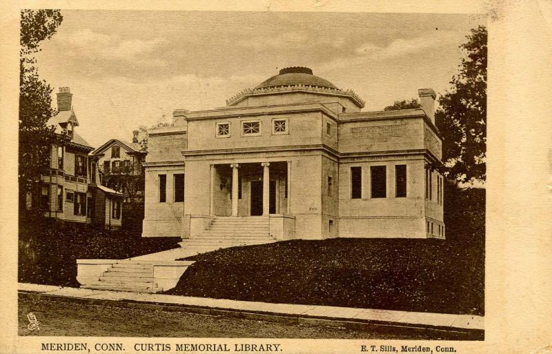 CT - Meriden. Curtis Memorial Library