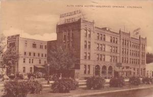 Alta Vista Hotel, Colorado Springs, Colorado,PU-1953