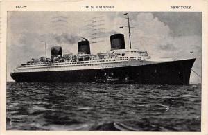 6177  S.S.  Normandie  Compagnie Générale Transatlantique Line