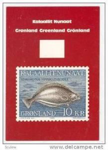 Gronland, Kalaallit Nunaat, 10 KR fish, 1985