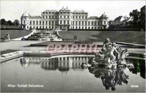 Postcard Wien Modern Schlob Belvedere