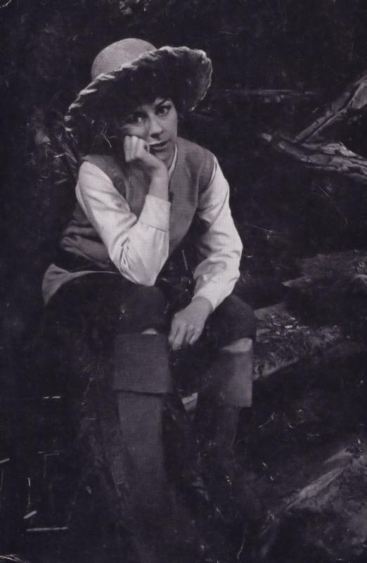 Dorothy Tutin as Rosalind Royal Shakespeare Company Theatre Postcard