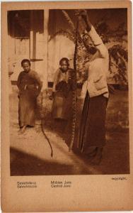 CPA Central JAVA Sawahsnake Sawahslang. INDONESIA (169979)