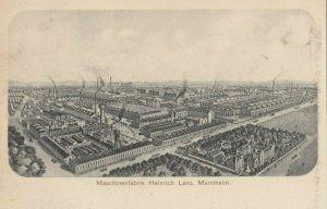 MANNHEIM, Germany, 1900-10s ; Maschinenfabrik Heinrich Lanz