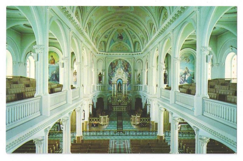 Saint-Pierre St Peter's Interior Cape Breton Nova Scotia