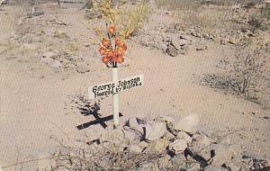 Arizona Tombstone Hanged By Mistake