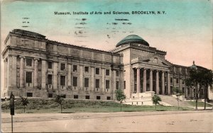 BROOKLYN NY – Institute of Arts and Sciences - Vintage Postcard - PC