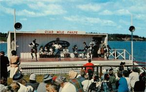 Pugwash Nova Scotia~Gathering of Clans~Ciad Mile Failte Stage~1950s