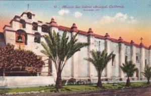 California Los Angeles San Gabriel Mission Arcangel