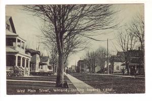 West Main Street, Welland, Ontario, Used 1910