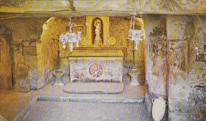 Malta Rabat St Agatha's Crypt Main Altar