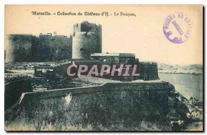 Old Postcard Chateau d'If Marseille Collection Dungeon