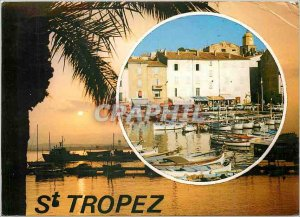 Postcard Modern Light and Beauty of the French Riviera Saint Tropez Remembrance
