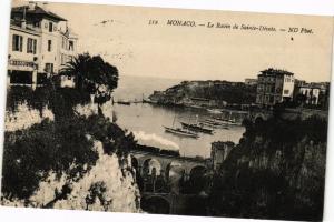 CPA Monaco-Le Ravin de Sainte Dévote (233944)