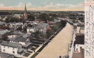 Medina New York - Bird's Eye View - UDB - pm 1907