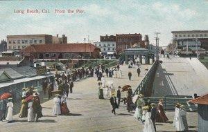 LONG BEACH , California, 1900-10s ; From the Pier