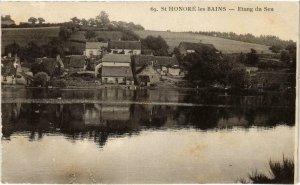 CPA St-HONORÉ-les-BAINS Étang du Seu Nievre (100309)