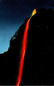 California Yosemite National Park The Fire Fall Glacier Point