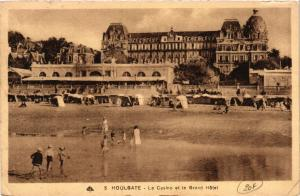 CPA HOULGATE -Le Casino et le Grand Hotel (422375)