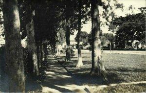 indonesia, JAVA SURAKARTA SOLO, Street Scene (1930s) RPPC Postcard