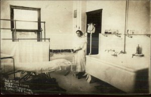 Rochester MN Operating Room St. Mary's Hospital Medical Real Photo Postcard