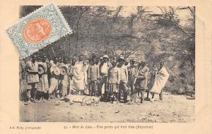 Ethiopia Mort du Lion, Une partie qui finit bien (Abyssinie) lion death