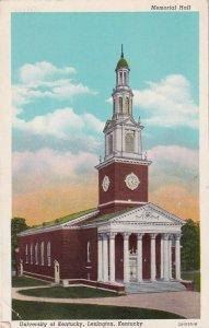 LEXINGTON , Kentucky, 1952 ; University of Kentucky Memorial Hall