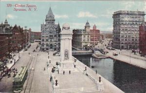 SYRACUSE, New York, PU-1911; Clinton Square