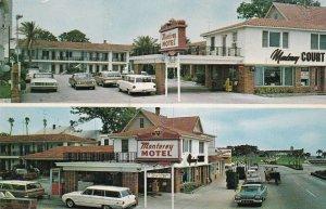 Florida St Augustine Monterey Motel sk5677
