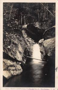 SHELBURNE, NEW HAMPSHIRE BOWL AND PITCHER RPPC REAL PHOTO POSTCARD