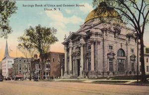 Savings Bank on Genesee Street - Utica NY, New York - DB
