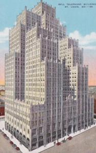 Missouri St Louis Bell Telephone Building
