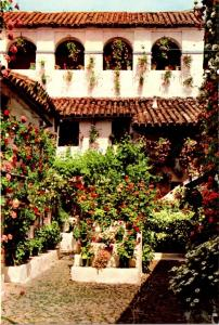 Spain Cordoba Typical Cordovan Court